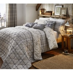 Ludlow Natural Brushed Cotton Bedspread