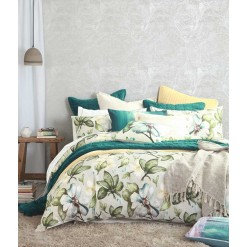 Flora KING SIZE Duvet Cover Set