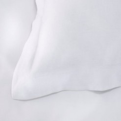 French Linen Pillow Case PAIRS - White