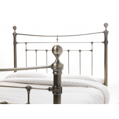 Edmond-Antique Brass Bedstead