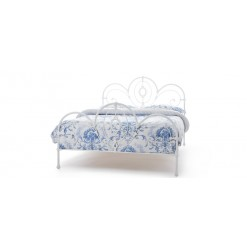 Harriet Glossy White Bedstead