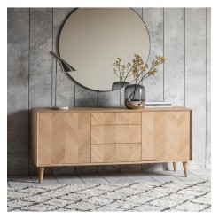 Milano 2 Door/3 Drawer Sideboard