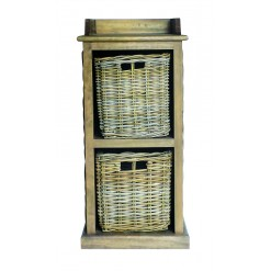 Maya 2 Basket Slim Storage Unit