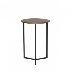 Tortula Bronze Side Table 45x65.5cm
