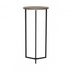 Tortula Bronze Side Table 40x85cm