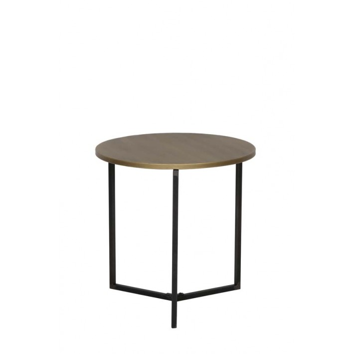 Tortula Bronze Side Table 50x50.5cm