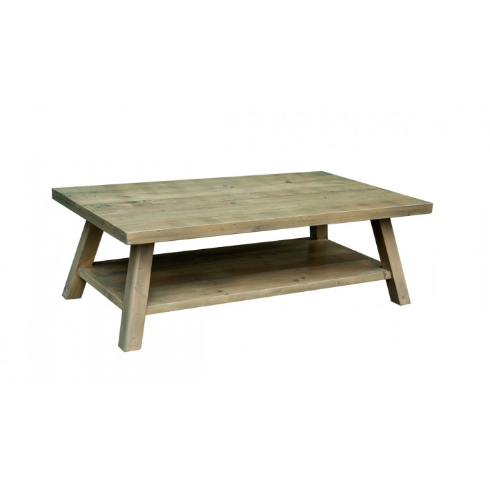 Rustica Coffee Table with Shelf