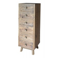 Rustica 6 Drawer Tall Chest