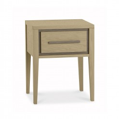Cubic 1 Drawer Bedside