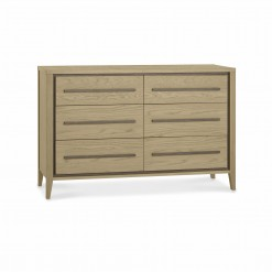 Cubic 6 Drawer Chest